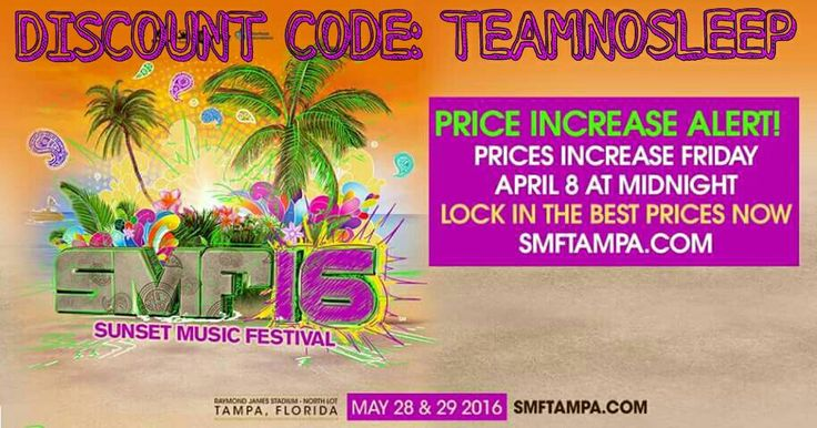 Hardwell And Jack U Heading To Sunset Music Festival Music - 8 great florida music festivals