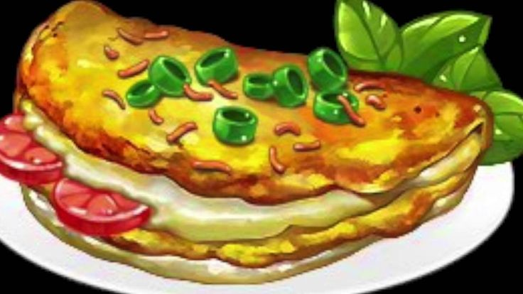 Andrei Balasa- Omelette du fromage
