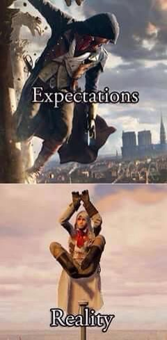 Assassin's Creed ... Bugity? // Funny // Assassin's Creed Unity