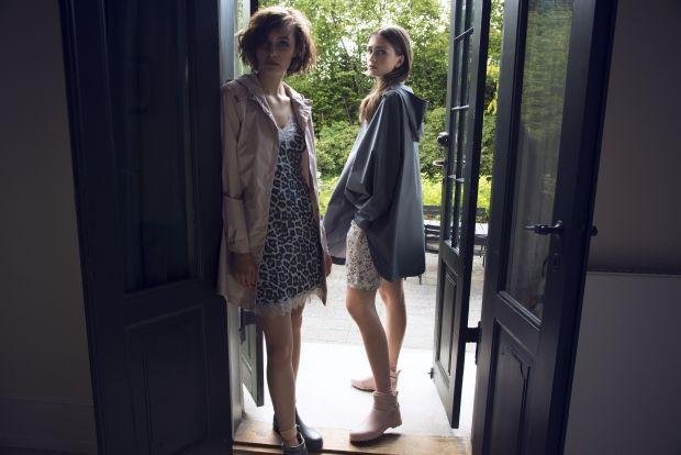 New and feminin rainwear collection from Rosemunde