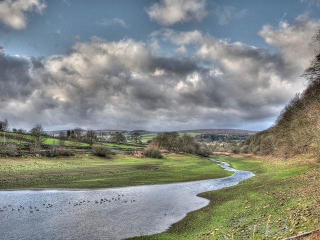 Damflask, near Sheffield, looking towards Bradfield