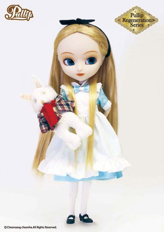 Pullip Doll - Regeneration Series Fantastic Alice (Alice in Wonderland) mit Hase
