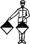 Great semaphore clipart.