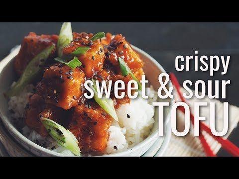 crispy sweet & sour tofu-hot for food