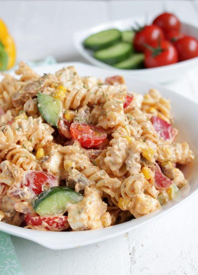 Gyros Salat   Food with Love – Thermomix Rezepte mit Herz   Bloglovin' – Daniela Schur