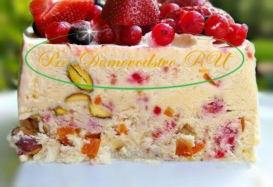 Итальянский десерт флоренция