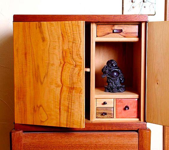 Krenov last cabinet open view | Furniture | Cabinet ...
