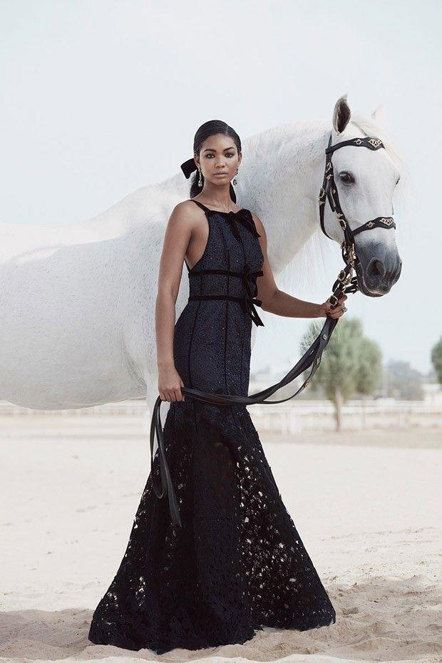 Шанель Иман в Harper's Bazaar Arabia (Интернет-журнал ETODAY)