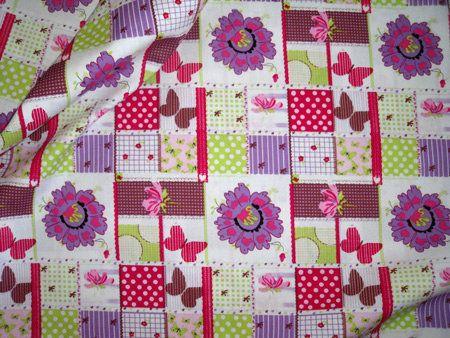 Cotton for Kids katoen patchwork multi Van 7.95...