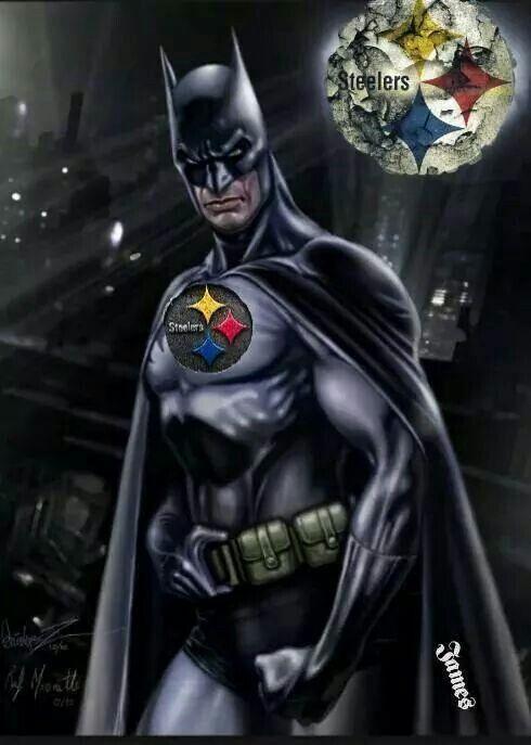 Image result for bat man steelers