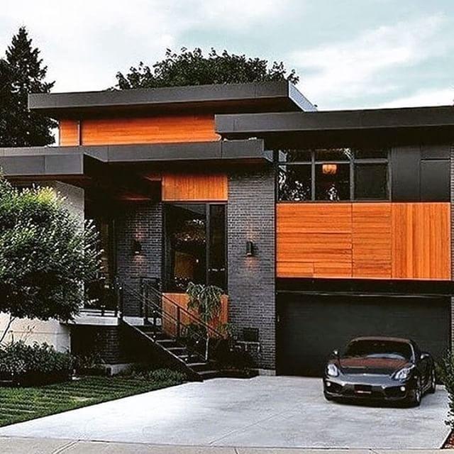 Modern Contemporaryhome Exterior Design: Do You Like It? . Contemporary House Upside Development