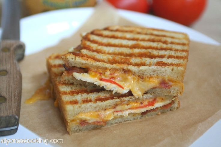 Panera Bread Chipotle chicken panini copycat | Alyona's Cooking