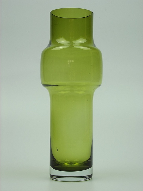 Riihimaki olive green cased glass vase. Designed by Tamara Aladin by art-of-glass, via Flickr
