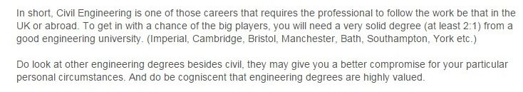 IS CIVIL ENGINEERING A DEAD FIELD job opportunities? - The Student Room