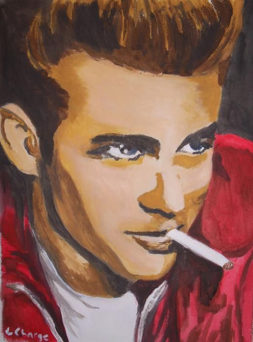 James Dean by Lindasart