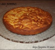 Recette - Gâteau ultra moelleux aux pommes - Proposée par 750 grammes
