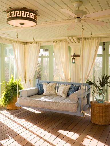 Porch swing, i love.