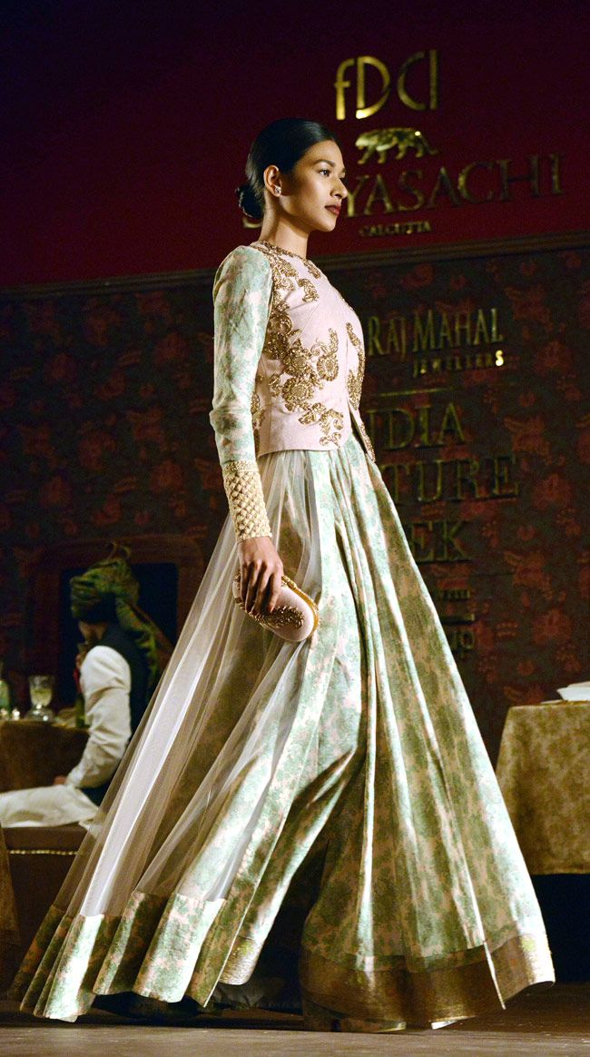 Sabyasachi - India Couture Week 2014.
