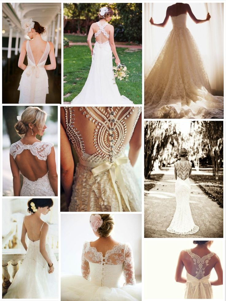 1920's  Great Gatsby wedding theme… great back wedding dresses.