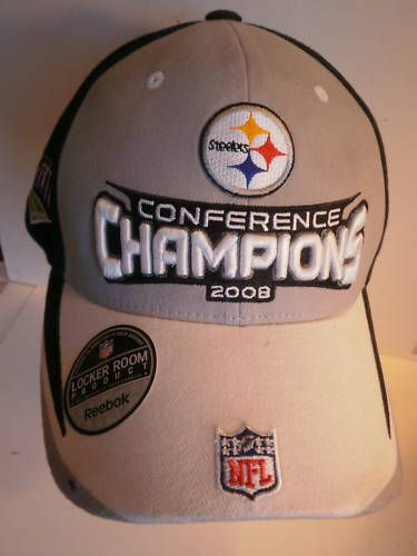 Pittsburgh Steelers Super Bowl 43 Champions Hat Reebok One Size | eBay