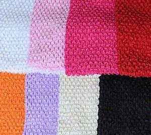 "8"" Lined Crochet Tutu Tops"