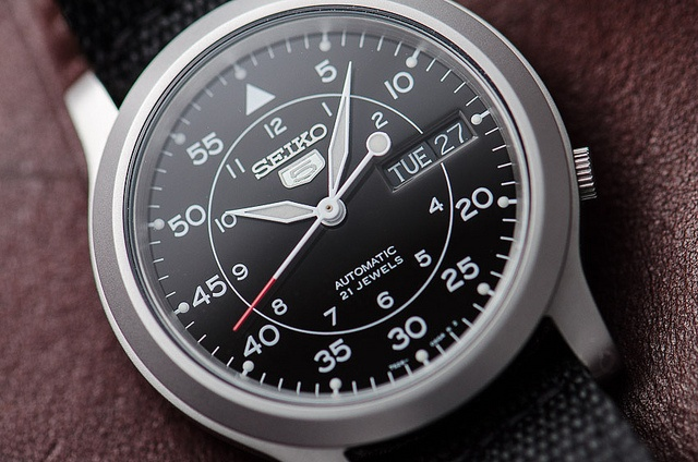 Seiko SNK809K2 : Inspired by Laco Watch (Luftwaffe, WWII period)