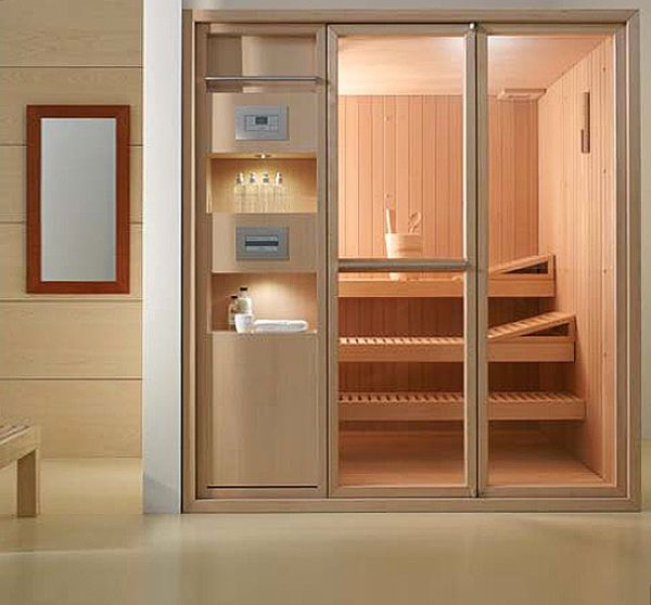 sauna modified                                                 50 Indoor Sauna Designs Suggestions And Photographs amazing ideas