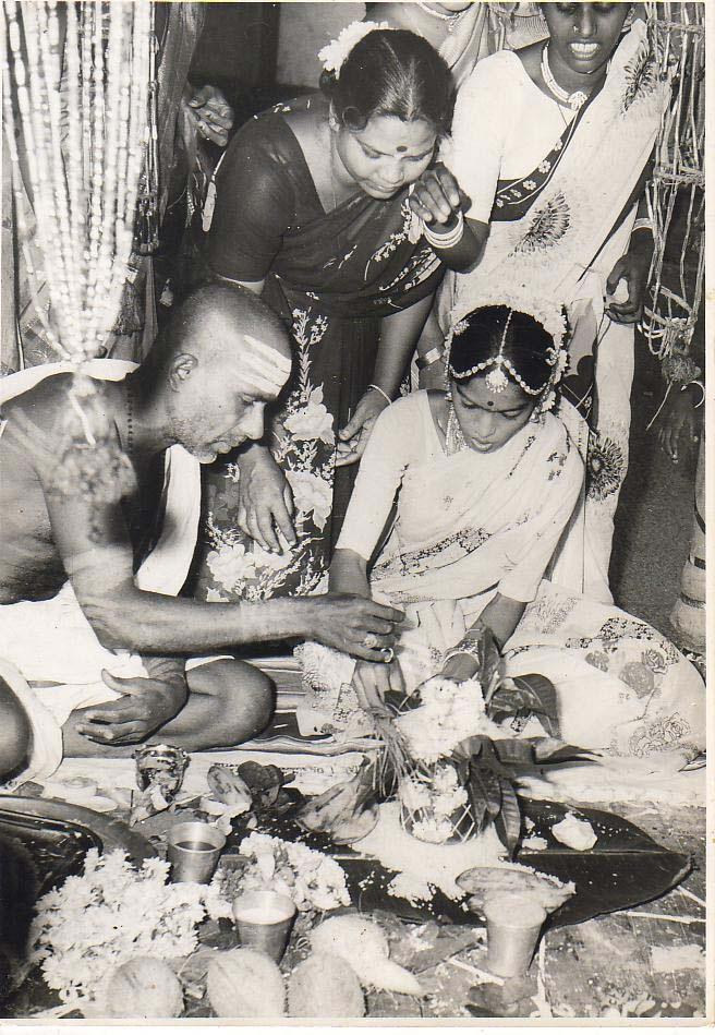 Indian wedding - old photo
