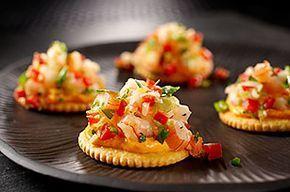RITZ Asian Shrimp Toppers Recipe #seafoodrecipes