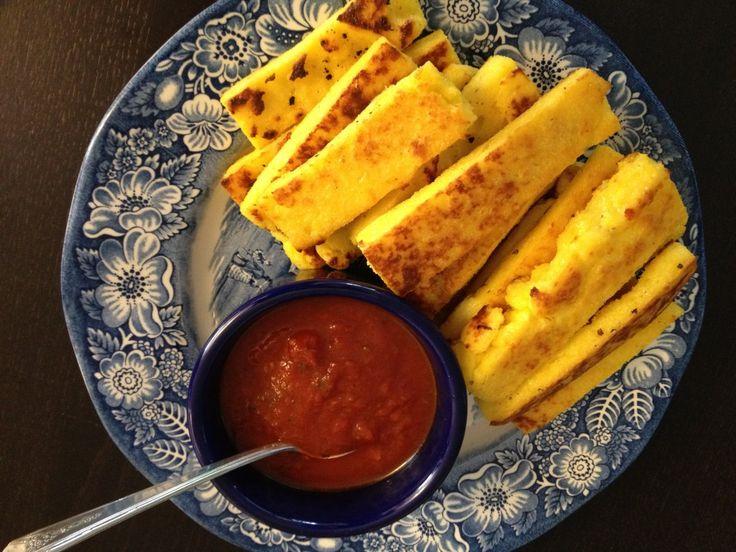 baked polenta fries | Yums | Pinterest
