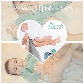 masaje para bebes zonas colicos y gases