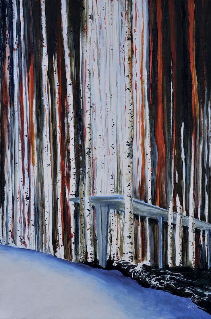 Jiří Hauschka: This Must Be the Place, 2013, acrylic on canvas, 90 x 60 cm