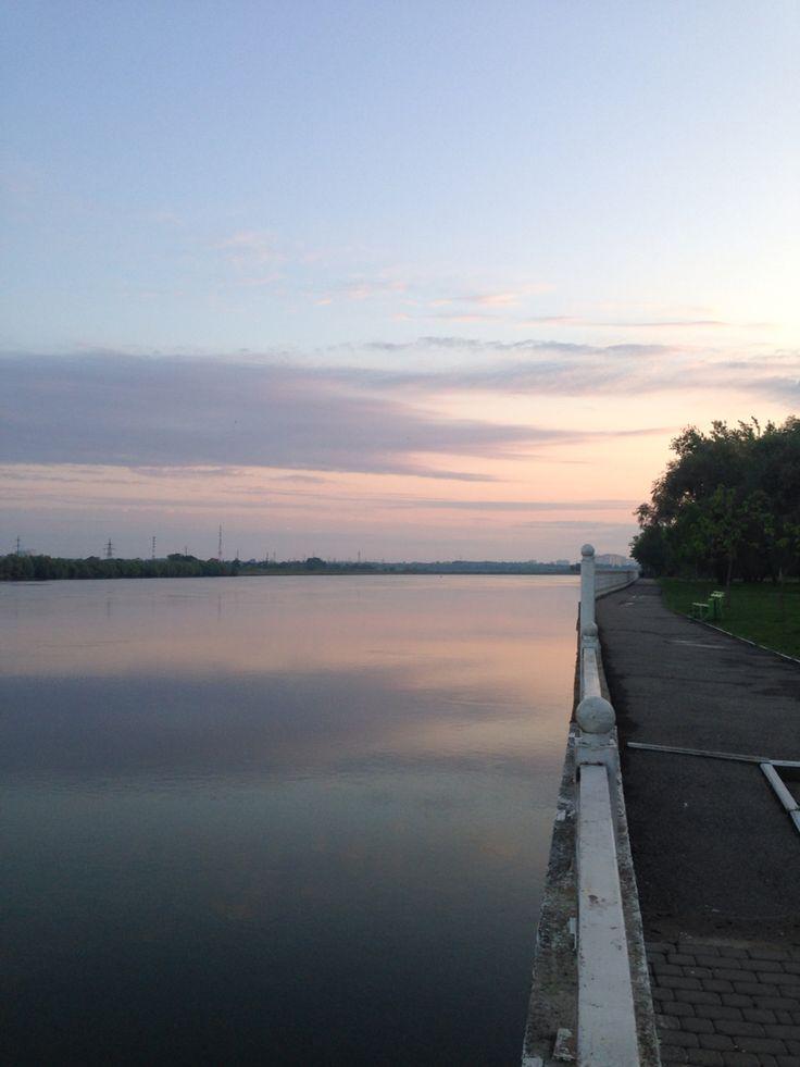Рассвет. 5 утра. Кубань