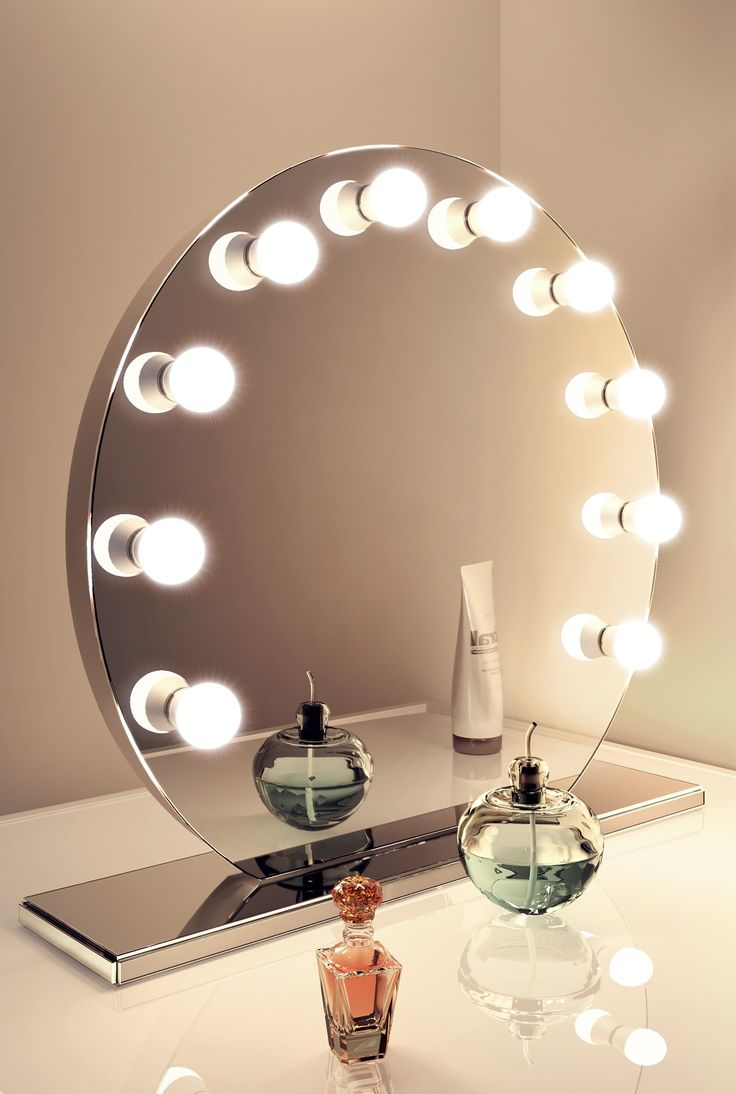 Vanity Mirror With Lights All Round : 1000+ ideas about Hollywood Mirror on Pinterest Mirror with lights, Hollywood mirror with ...