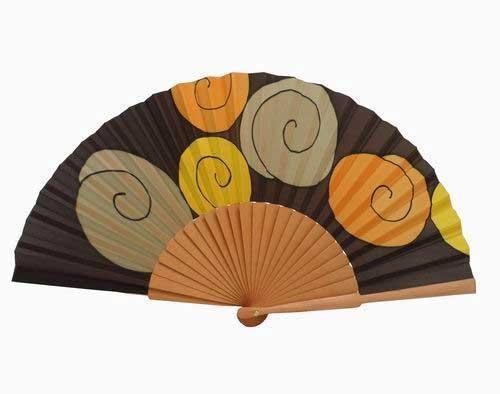 Las 25 mejores ideas sobre ventiladores de mano para boda - Abanicos pintados a mano originales ...
