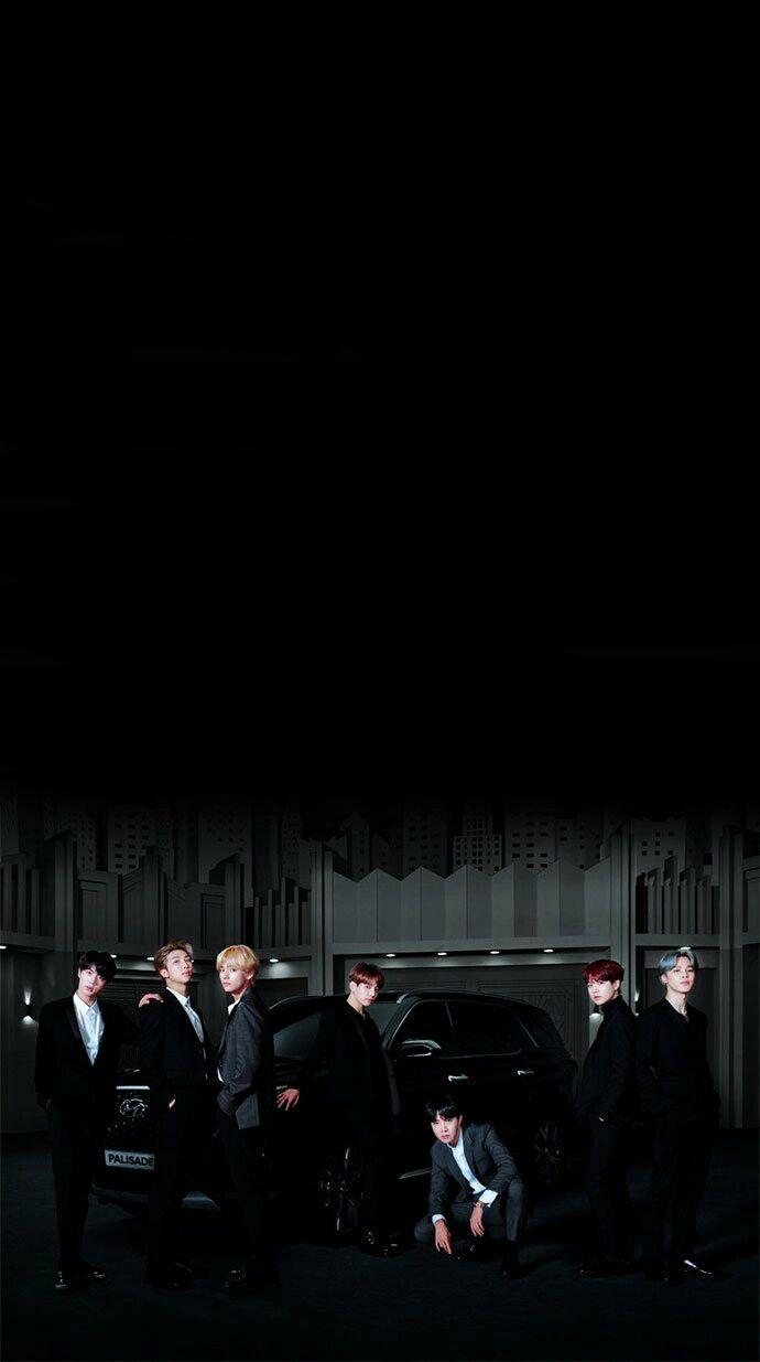 Cr Pjm963 Hyundai Bts Bts Bts Wallpaper Bts Black And White Bts Bulletproof