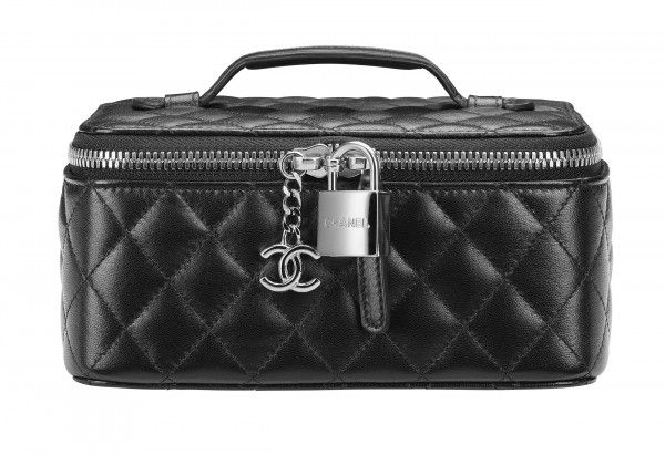 Chanel Quilted Lambskin Jewelry Box