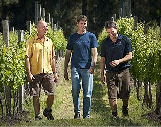 Mike, Clive and Brett - Nautilus Estate of Marlborough