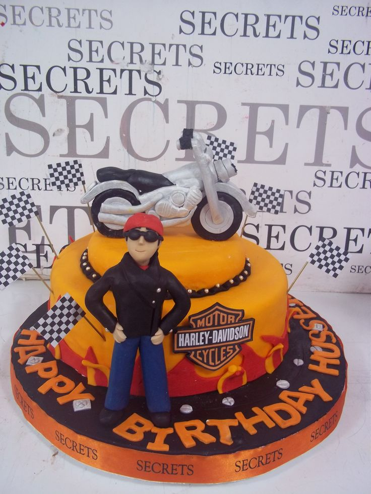 58 Best Images About Cakes Harley Davidson On Pinterest
