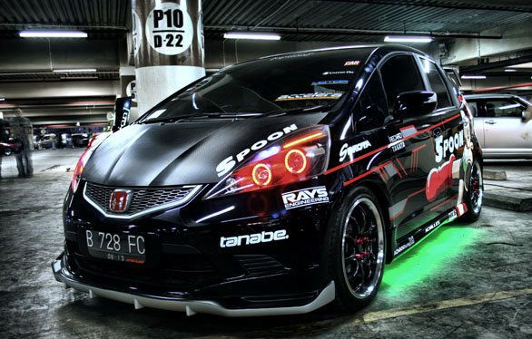 Modified Honda Jazz