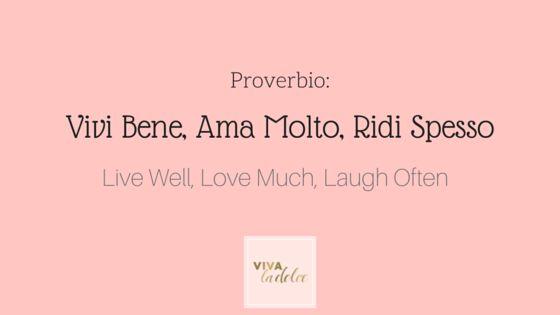 VLD Italian 101 ~ proverbi ~ 6