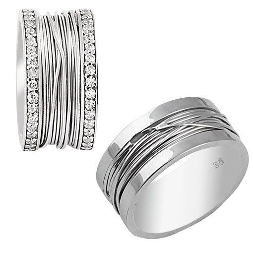 Söz Yüzükleri Gümüş - Bay ve bayan çift gümüş yüzük. El işçiliği olan gümüş söz yüzükleri şık tasarımıyla sadece yuzuksitesi.com` da . Yüzüklerin üzeri gümüş tel sarmalıdır. / http://www.yuzuksitesi.com/soz-yuzukleri-gumus-10062