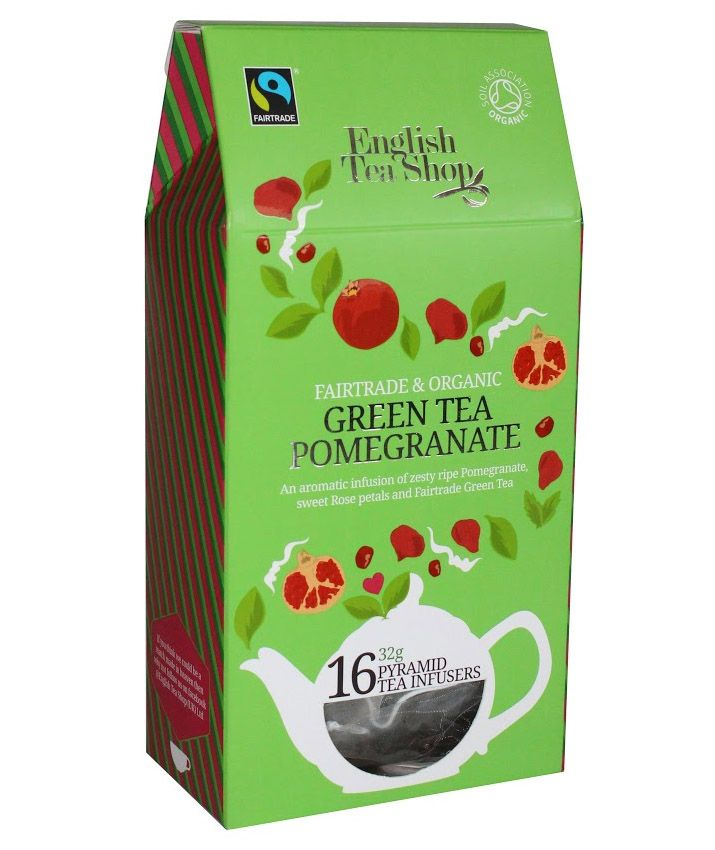 ETS 16 Zold tea granatalma -bio&fairtrade