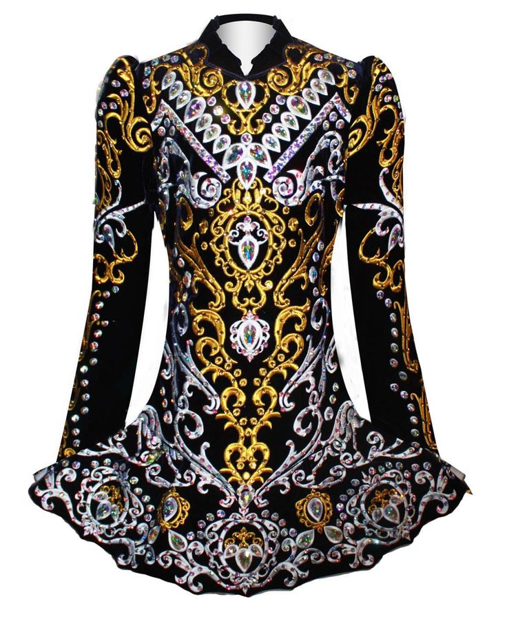 Exclusive and unique Irish dancing dresses by Elevation Design. The Elevation…