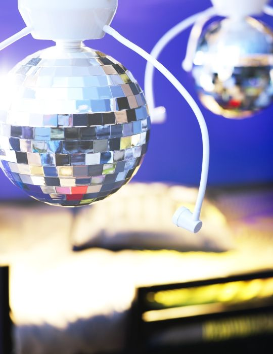 DANSA disco ball lamp - for the best birthday dance parties in town!