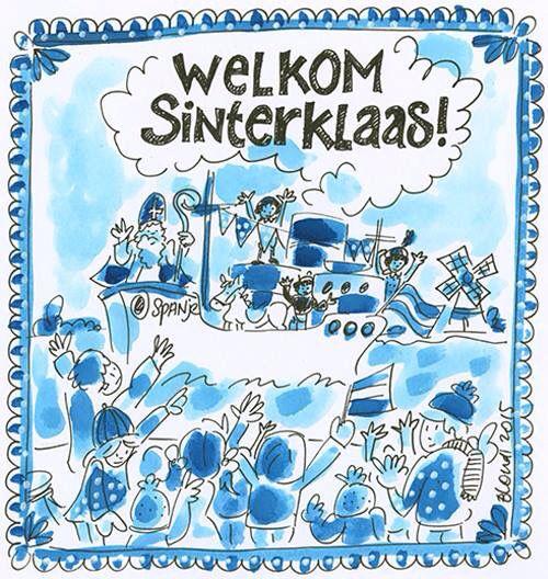 Welkom Sint en Piet - Blond Amsterdam