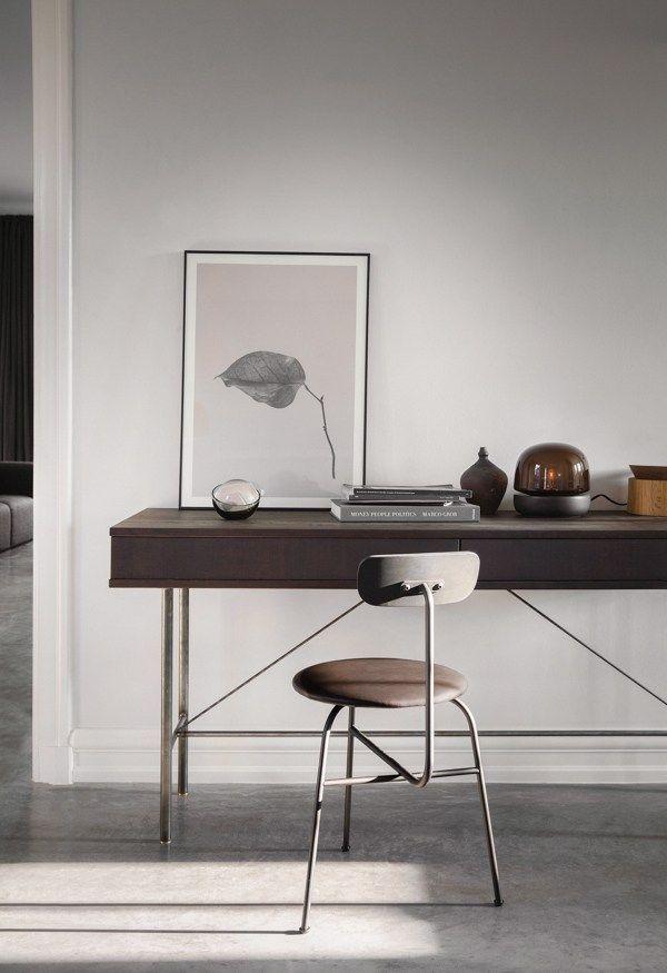 Sorensen Chair In Leather   Via Coco Lapine Design