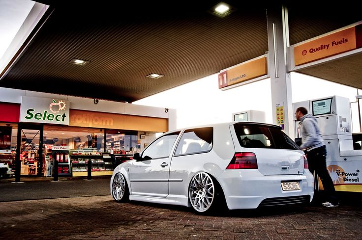 vw mk4 Golf. I thought my brother had the cleanest looking gti until I saw this gem!