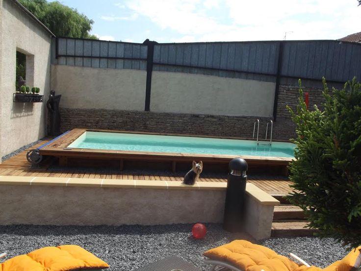 25 best ideas about piscine bois rectangulaire on for Piscine bois auchan