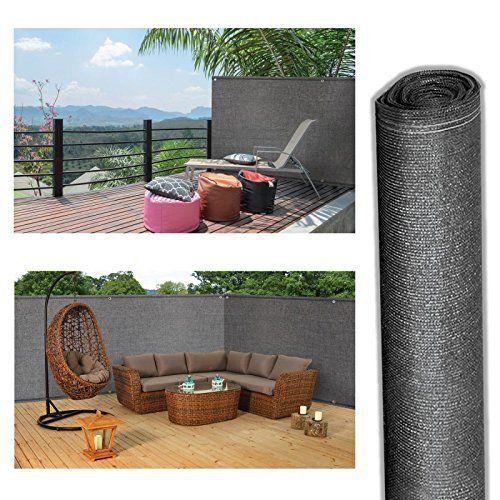 ProBache – Brise vue renforcé 1,5 x 10 m gris 220 gr/m² luxe pro: Price:27.99Brise vue en toile souple et résistante 1,5 x 10 m avec…